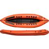 Nortik DUO EXPEDITION PACKRAFT - Schlauchboot - ORANGE/SCHWARZ