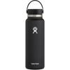 Hydro Flask 40 OZ WIDE MOUTH WITH FLEX CAP 2.0 - Trinkflasche - BLACK