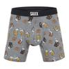 SAXX VIBE BOXER BRIEF Männer - Funktionsunterwäsche - GREY BEER CHEERS