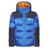 Jack Wolfskin MOUNT COOK JACKET KIDS Kinder - Daunenjacke - COASTAL BLUE
