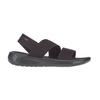 Crocs LITERIDE STRETCH SANDAL W Frauen - Outdoor Sandalen - BLACK/BLACK
