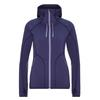 FRILUFTS SJUNKHATTEN HOODED FLEECE JACKET Frauen - Fleecejacke - PATRIOT BLUE