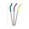 Klean Kanteen STRAW 3-PACK, 10 MM - MULTI COLORED