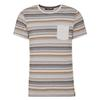 Chillaz STRIPES RETRO Männer - T-Shirt - GREY MELANGE