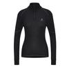 Odlo BL TOP TURTLE NECK L/S HALF ZIP ACTIVE X Frauen - Funktionsunterwäsche - BLACK