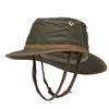 Tilley OUTBACK Unisex - Sonnenhut - GREEN OLIVE/BRITISH TAN
