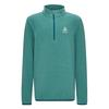 Odlo MIDLAYER 1/2 ZIP ROY KIDS STRIPE Kinder - Fleecepullover - MALACHITE GREEN SUBMERGED