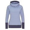 FRILUFTS DUNCAN HOODED LONGSLEEVE Frauen - Funktionsshirt - TEMPEST/GRAY MIST STRIPED