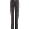 Fjällräven TRAVELLERS MT 3-STAGE TRS W Frauen - Reisehose - DARK GREY