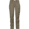Fjällräven NIKKA TROUSERS CURVED W Frauen - Trekkinghose - LIGHT OLIVE