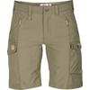 Fjällräven NIKKA SHORTS CURVED W Frauen - Shorts - LIGHT OLIVE