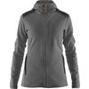 Fjällräven KEB FLEECE HOODIE W Frauen - Fleecejacke - GREY-DARK GREY
