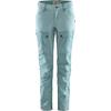 Fjällräven KEB TROUSERS CURVED W SHORT Frauen - Trekkinghose - CLAY BLUE-MINERAL BLUE