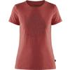 Fjällräven FOREVER NATURE T-SHIRT W Frauen - T-Shirt - RED