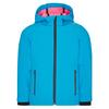 CMP KID G FIX HOOD JACKET Kinder - Softshelljacke - DANUBIO-PINK FLUO
