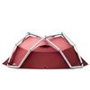 Heimplanet BACKDOOR 4-SEASON Unisex - Kuppelzelt - RED