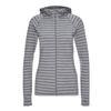 FRILUFTS BREIVANN HOODED JACKET Frauen - Kapuzenjacke - DECEMBER SKY/ASPHALT STRIPED