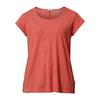 Tierra KAIPARO HEMP TEE (REGULAR) W Frauen - T-Shirt - RED POPPY