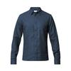Tierra KAIPARO HEMP SHIRT M Männer - Outdoor Hemd - ECLIPSE BLUE