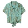 Royal Robbins BERGEN S/S Frauen - Outdoor Bluse - TURQUOISE