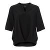 Royal Robbins SPOTLESS TRAVELER S/S Frauen - Funktionsshirt - JET BLACK