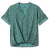 Royal Robbins SPOTLESS TRAVELER S/S Frauen - Funktionsshirt - TURQUOISE