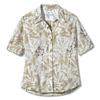 Royal Robbins EXPEDITION PRINT 3/4 SLEEVE Frauen - Outdoor Bluse - GRAIN