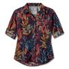 Royal Robbins EXPEDITION PRINT 3/4 SLEEVE Frauen - Outdoor Bluse - NAVY