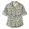 Royal Robbins EXPEDITION PRINT 3/4 SLEEVE Frauen - Outdoor Bluse - TURQUOISE