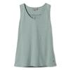 Royal Robbins FLYNN V-NECK TANK Frauen - Trägershirt - BLUE SURF