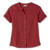 Royal Robbins COOL MESH ECO S/S Frauen - Outdoor Bluse - BOYSENBERRY XD