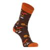 FRILUFTS VILLARRICA FOREST MIX Unisex - Freizeitsocken - BLACK COFFEE