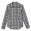 Royal Robbins THERMOTECH FLANNEL Frauen - Outdoor Bluse - LT PEWTER