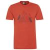 Scott SHIRT M' S DEFINED DRI GRAPHIC S/SL Männer - Funktionsshirt - RUST RED
