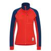 Tierra RE-SORTED NALLO WS Frauen - Fleecejacke - INDIGO/LAVA RED
