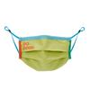 Cotopaxi TECA COTTON FACE MASK Unisex - Gesichtsmaske - LIMELIGHT/BLUEBELL
