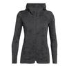Icebreaker W AWAY II LS ZIP HOOD Frauen - Wolljacke - MONSOON