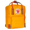 Fjällräven KÅNKEN RAINBOW MINI - Tagesrucksack - WARM YELLOW-RAINBOW PATTERN