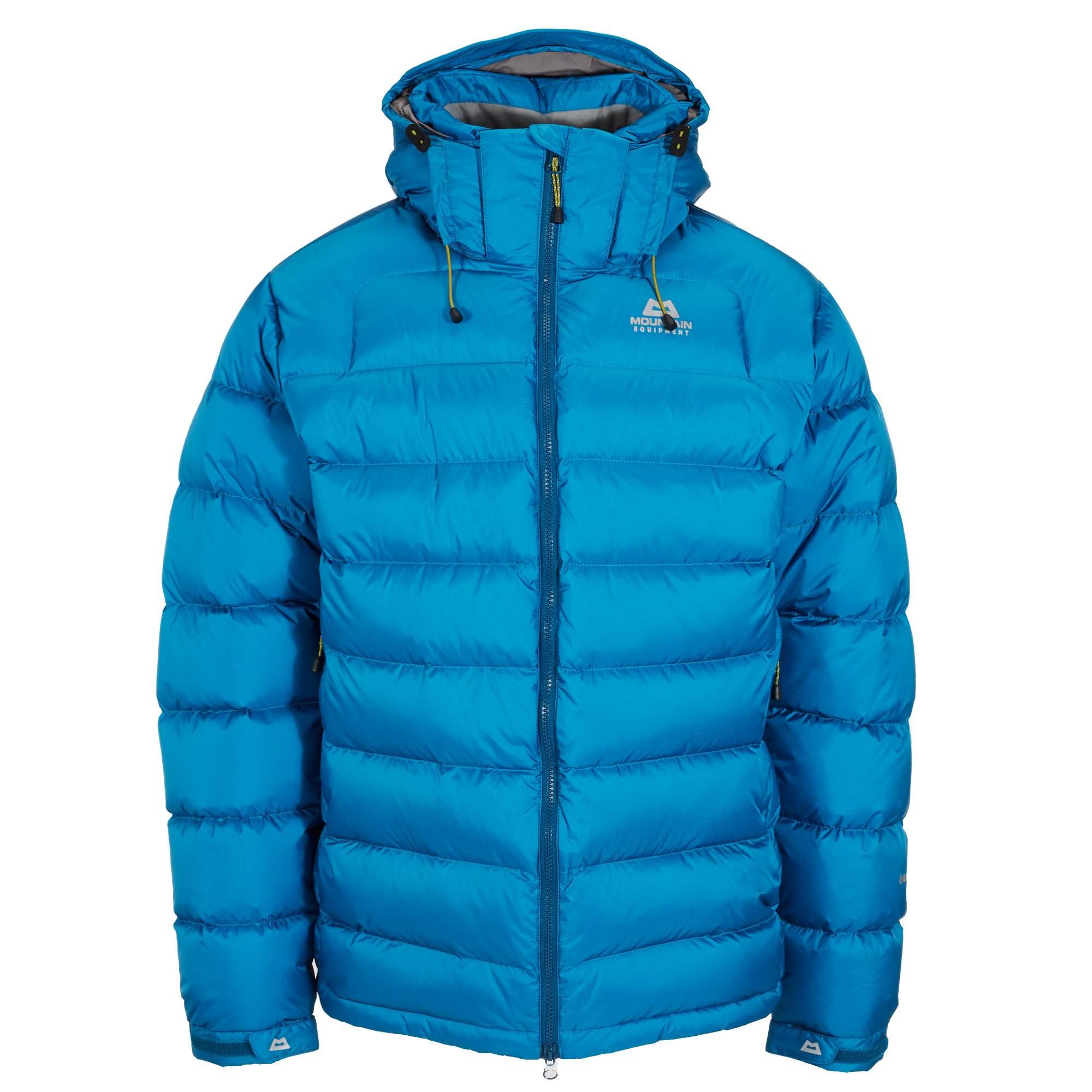 Mountain Equipment Lightline Jacket Herren Gr. S - blau / lagoon blue - Daunenjacken ME-000148 ME-01214 NA