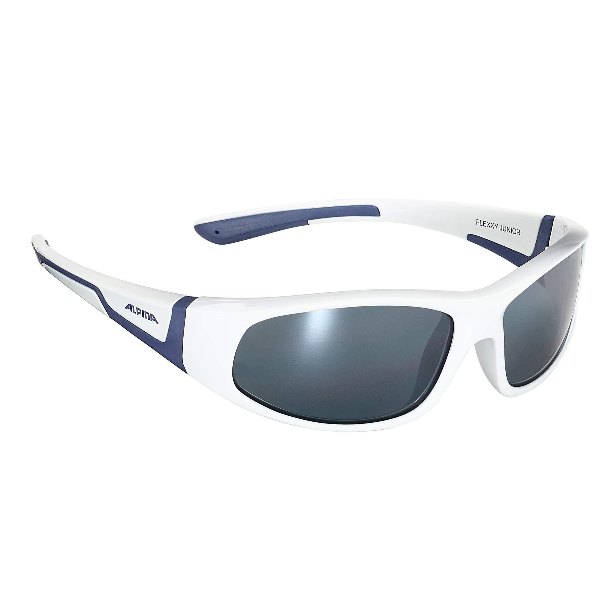 Alpina Flexxy Junior Kinder - Sonnenbrille - weiß