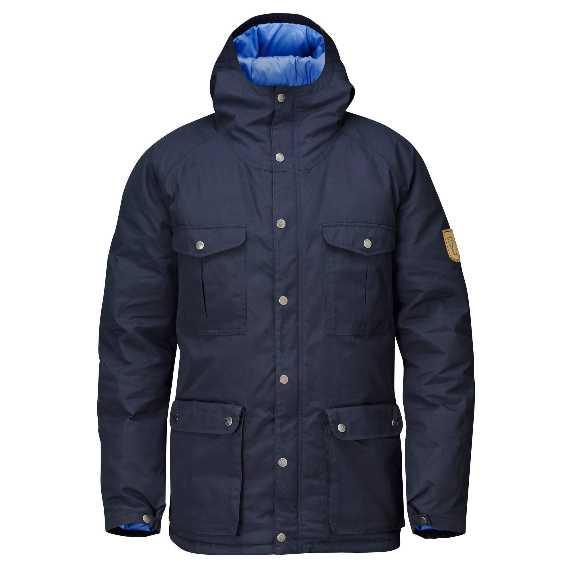 Fjällräven Greenland Down Jacket Männer Gr. XL - Daunenjacke - blau
