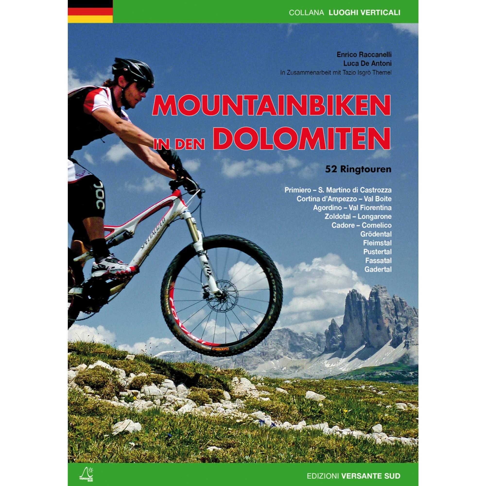 MOUNTAINBIKEN IN DEN DOLOMITEN - Mountainbikeführer