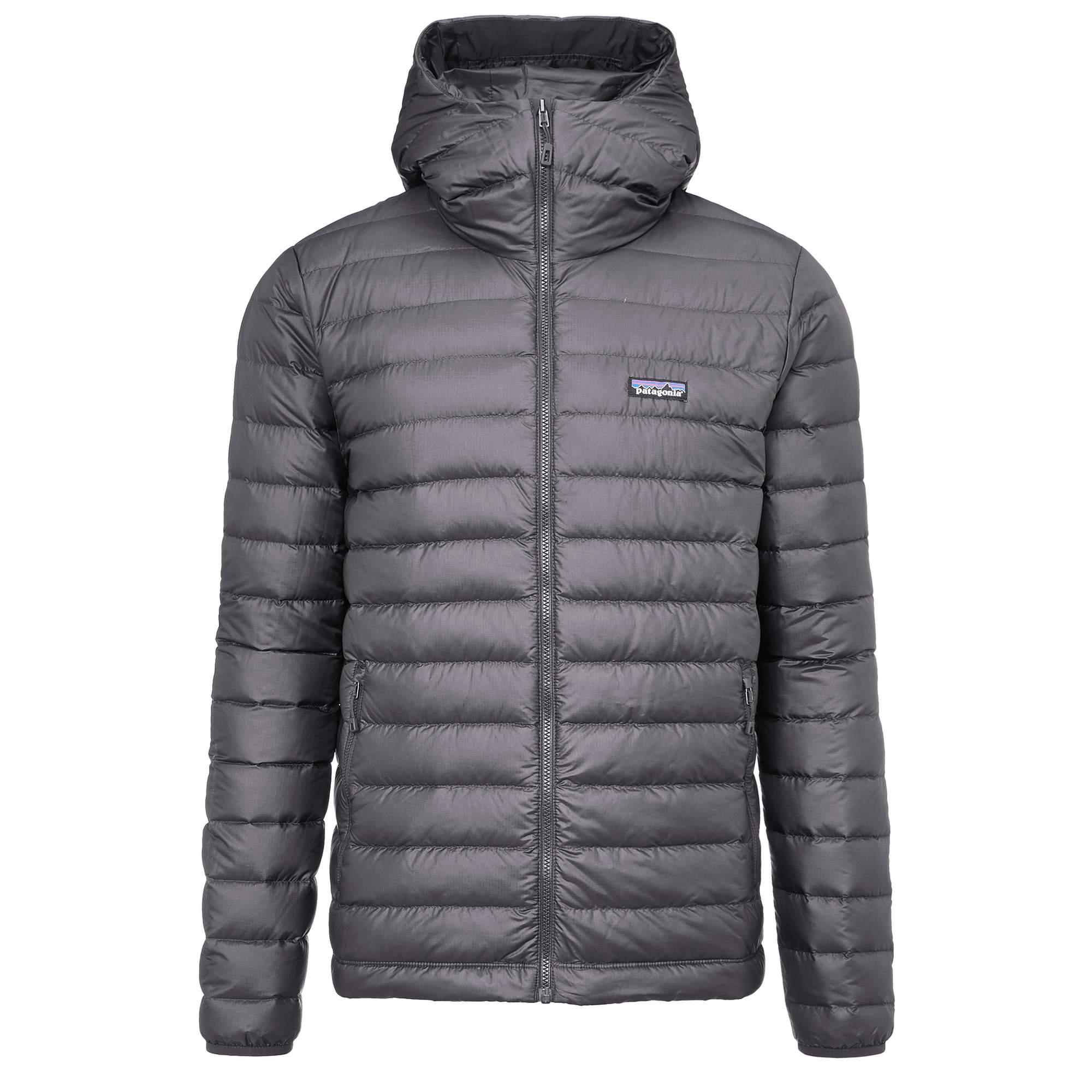 Patagonia Down Sweater Hoody Männer black