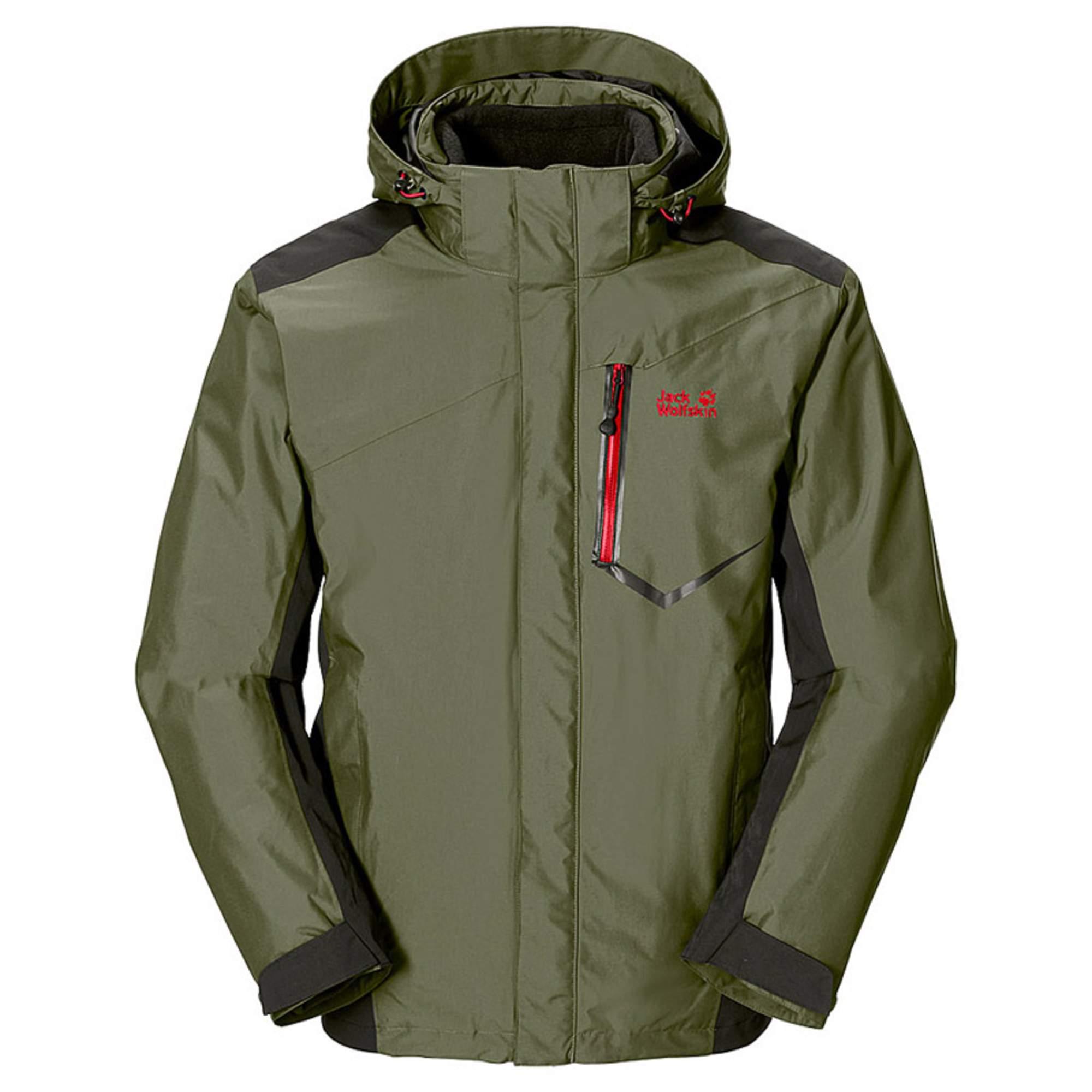Jack wolfskin herren 3in1 jacke prisma jacket