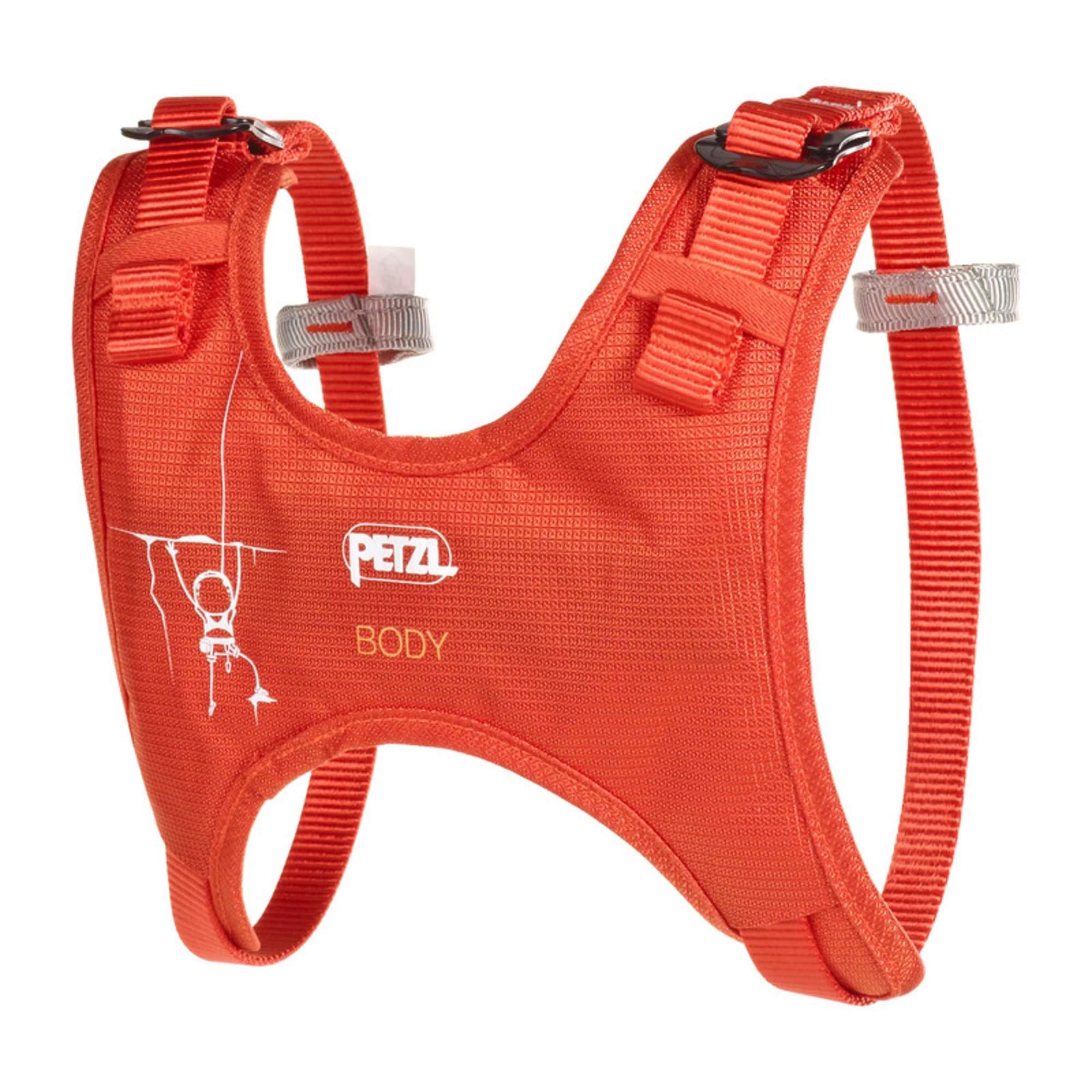 370a921ce407f3 Brustgurt für Kinder Der Brustgurt Body wird in Kombination mit einem  Hüftgurt (z.B. dem Macchu von Petzl) getragen und schützt Kinder vor einem  ...