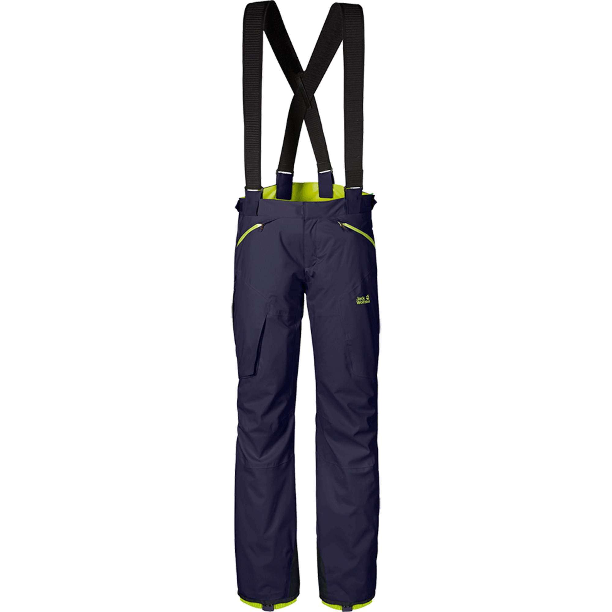 Jack Wolfskin ReveL/Stoke Texapore II Pants Männer Gr. 58 - Skihose - blau