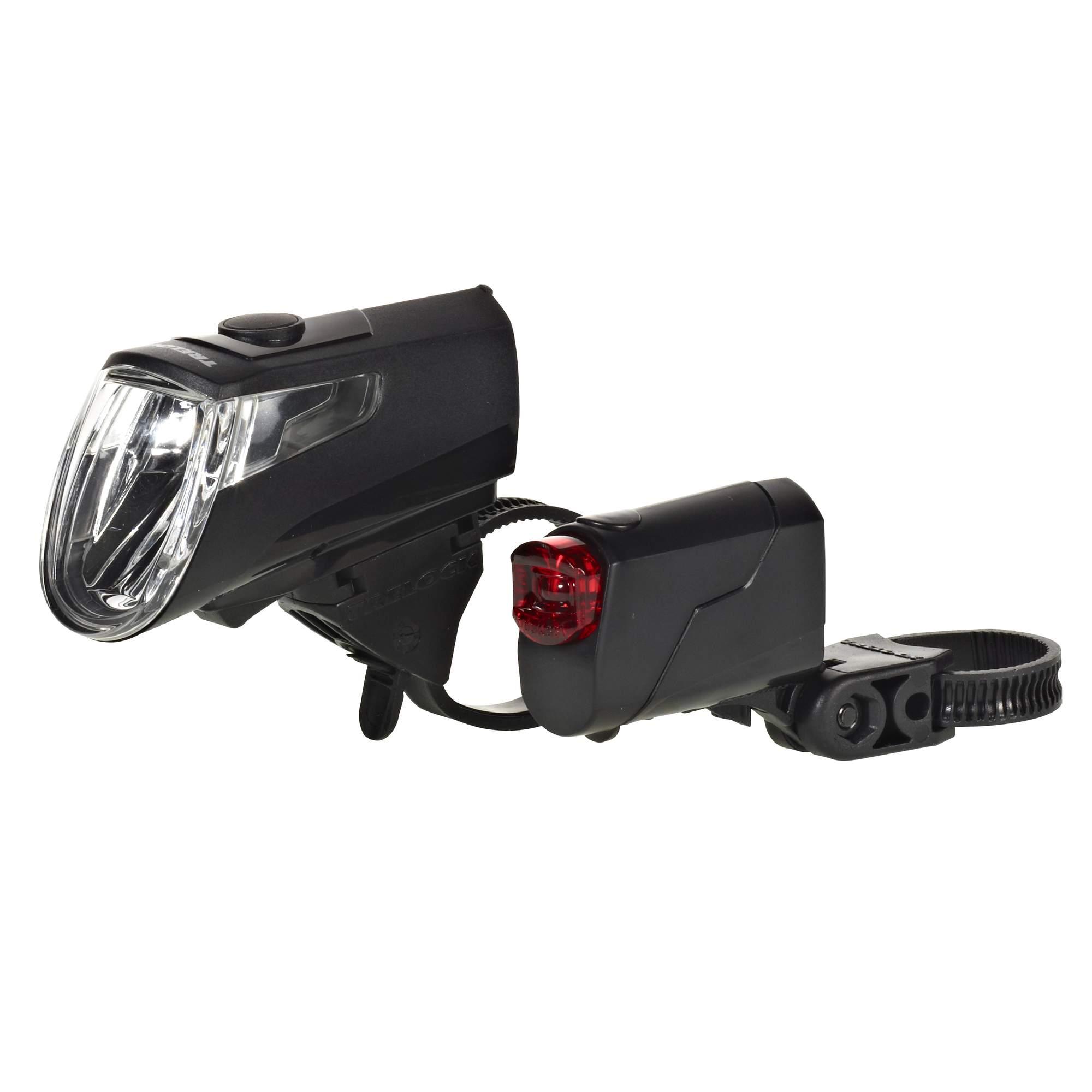 Trelock LS 360/LS 720 SET - Fahrradbeleuchtung - schwarz