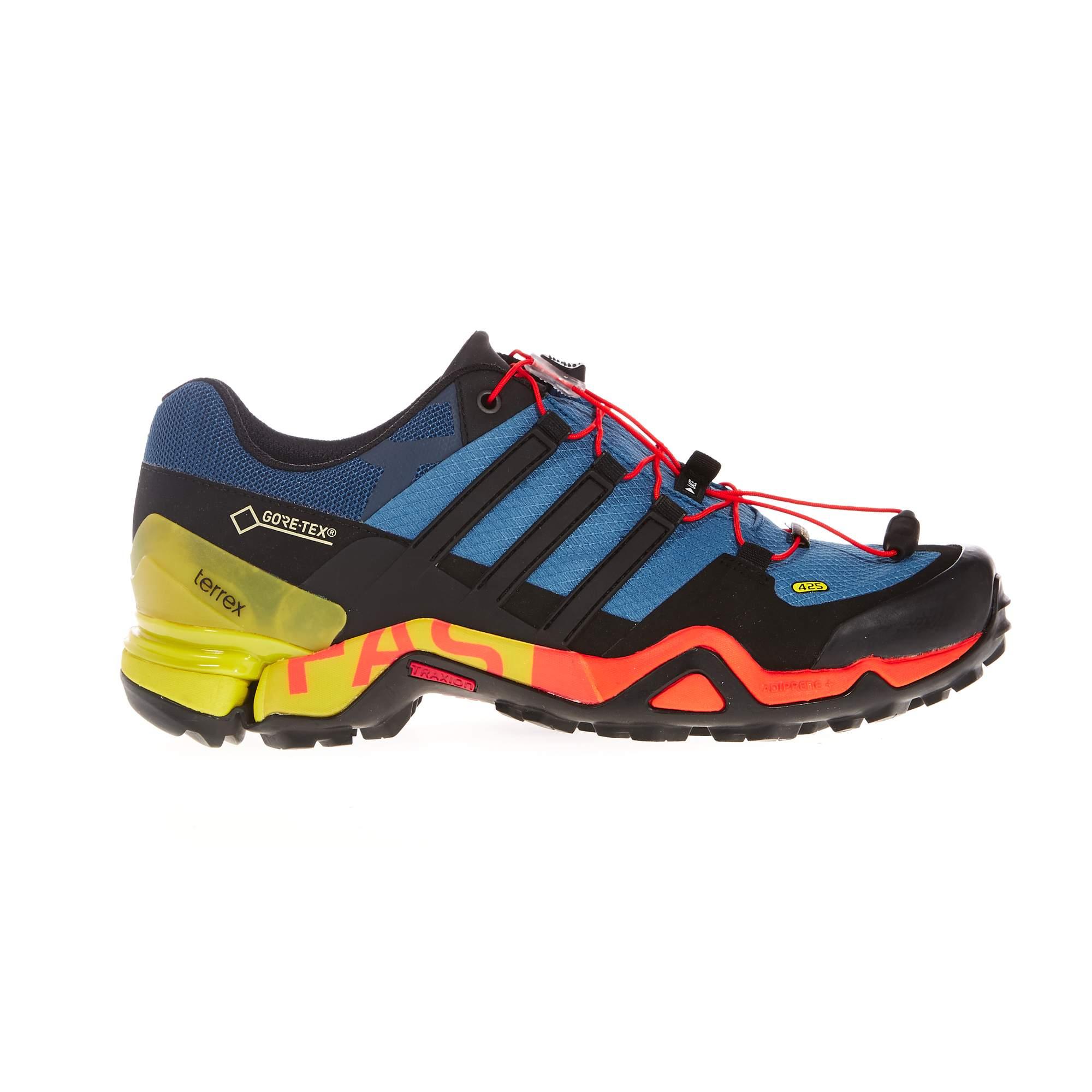 Adidas Terrex Fast R Mid Gtx Blue Outdoor Shoes