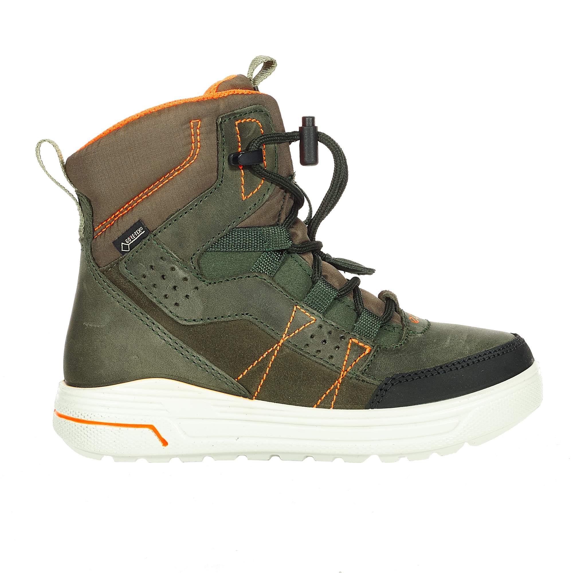 Ecco Urban Snowboarder Kinder Gr. 31 - Winterstiefel - oliv-dunkelgrün