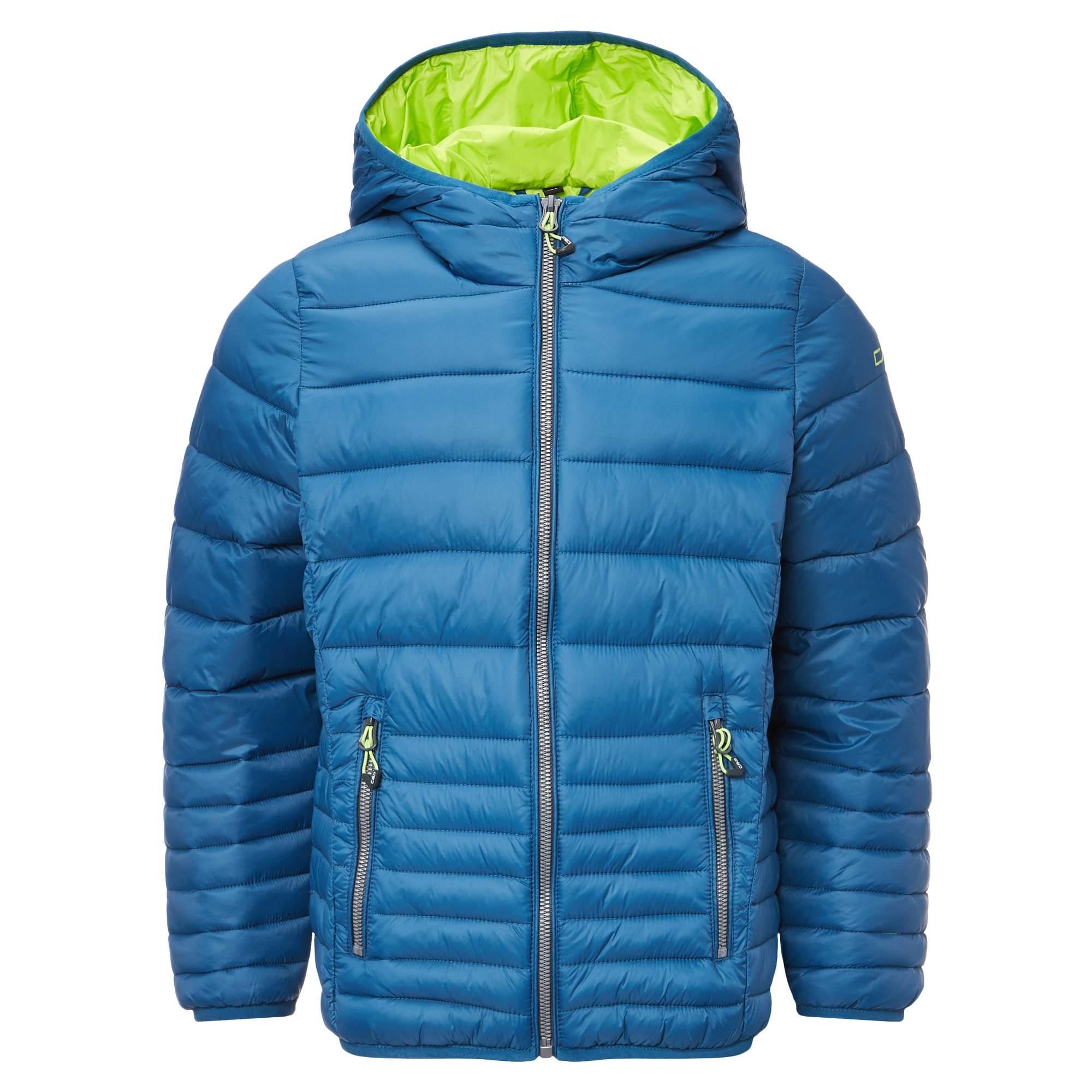 CMP Fix Hood Down Optic Jacket Kinder Gr. 128 - blau / denim - Neu 2017